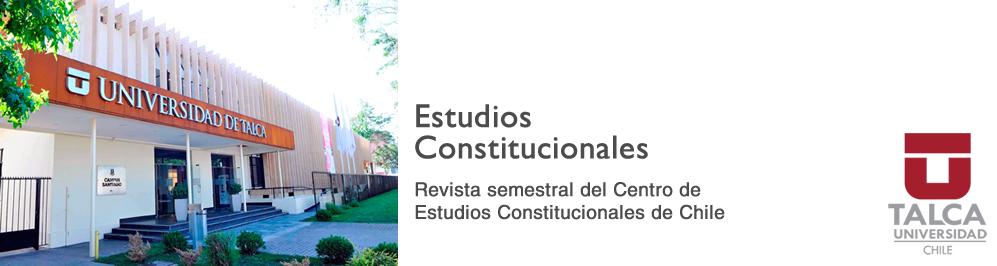 Revista Estudios Constitucionales
